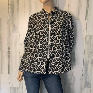 Charter Club Animal Print Jacket
